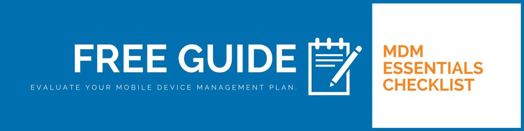 mobile-device-management-checklist